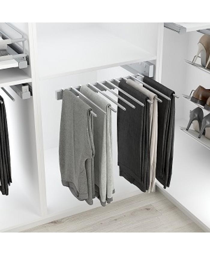 Pantalon (broeken) rek zwaar voor 10 stuks (zijwand montage)