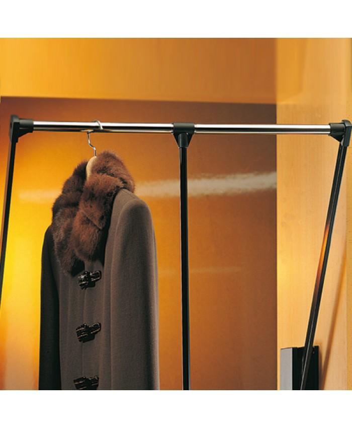 Kledinglift Zwart/chroom 12kg