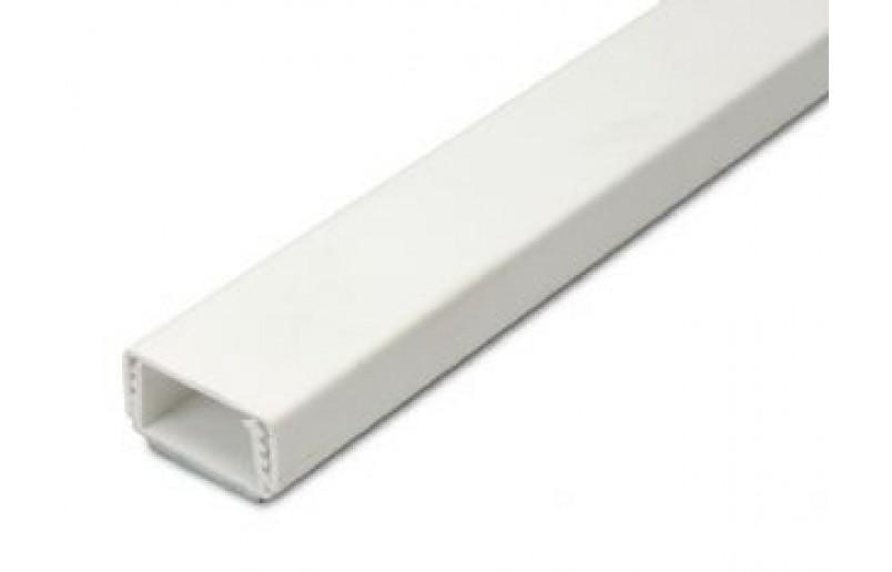 Kabelgoot zelfklevend wit/antaciet