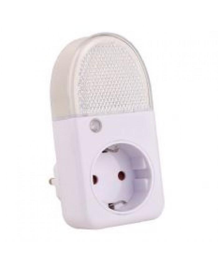Nachtlamp met sensor en wandcontactdoos