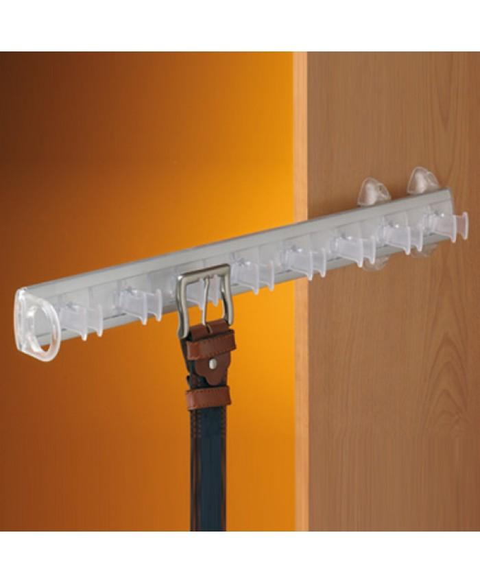 Servetto riemenhouder transparant/aluminium