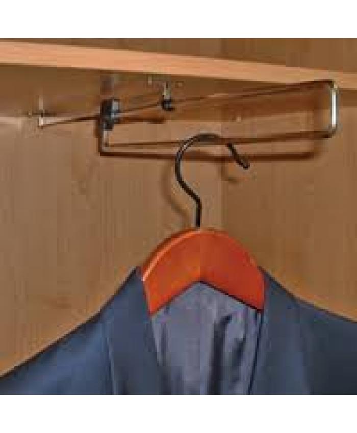 Garderobestang uittrekbaar