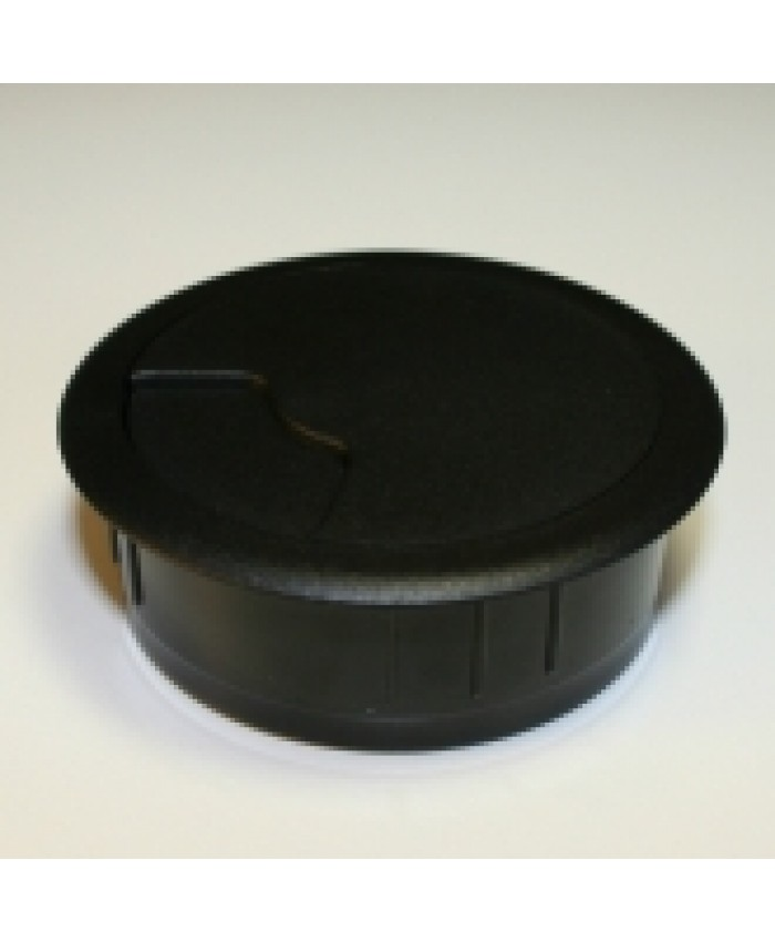 Kabeldoorvoer zwart ø 80mm