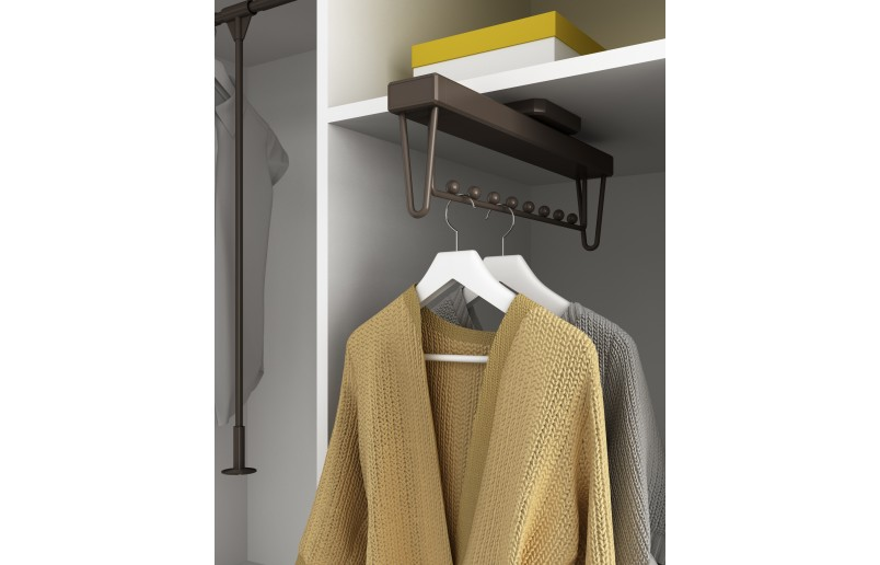 Uittrekbare garderobehanger met softclose